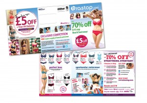 Direct mail design, print, fulfilment and delivery