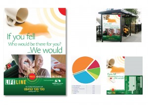 Multi-media campaign, including direct mail, advertising, ambient & radio
