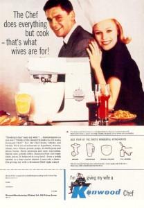 Vintage ad c.1961